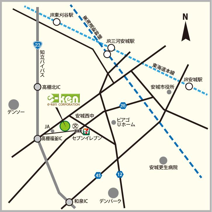 イーケン地図